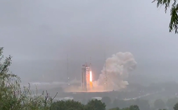 我国长征四号乙运载火箭成功发射天绘二号 02 组卫星